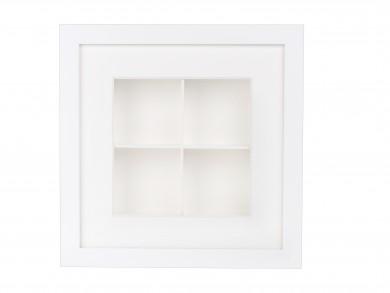 SPOX - weiß - 4 Fächer