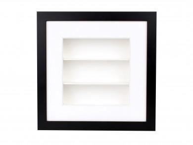 SPOX - schwarz/weiß - 3 Fächer