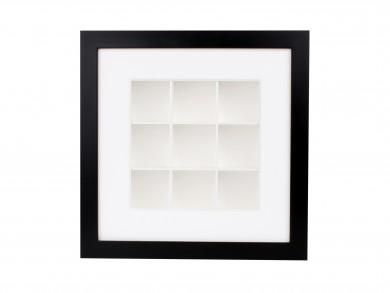 SPOX - schwarz/weiß - 9 Fächer