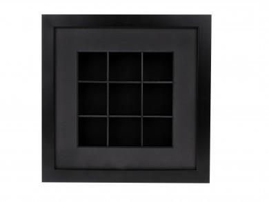 SPOX - schwarz - 9 Fächer