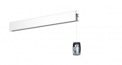 Newly Galerieschiene R20, weiß, 200 cm, Einzelpack