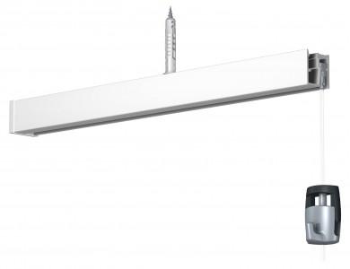 Newly Deckenschiene R40 - weiß, 200 cm